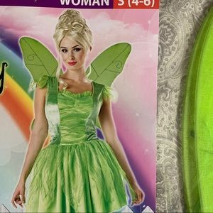 Adult tinker bell costume